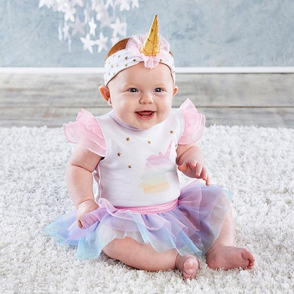 Lourdes Love   Unique Gift Sets   Baby Aspen First Unicorn