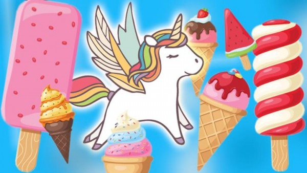 Make Your Own Unicorn Ice Cream