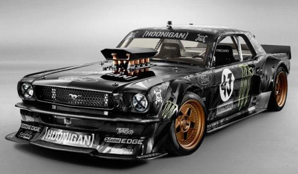 Meet Ken Block's New Awd Ford Mustang