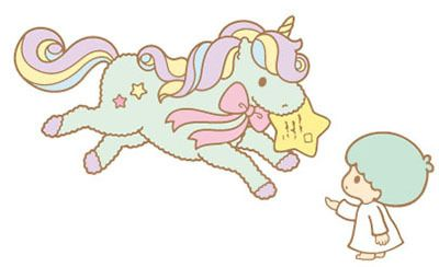 Nicorn Little Twin Stars Transparent & Png Clipart Free Download