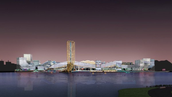 Oma And Morphosis Unveil Designs For Island Of Unicorn Startups