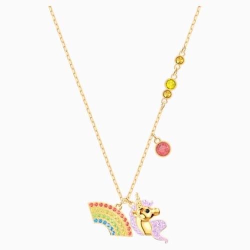 Out Of This World Unicorn Necklace, Multi