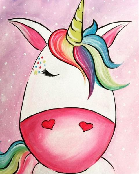 Paint Craze Kids  Happy Unicorn  April Vacation Event At The Yarde