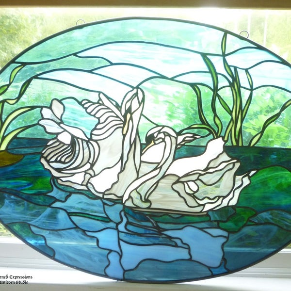 Photos At The Last Unicorn Stained Glass Studio