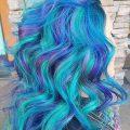 Unicorn Dip Dye