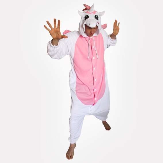 Pink Unicorn Onesie (adult) By Sweet Holic