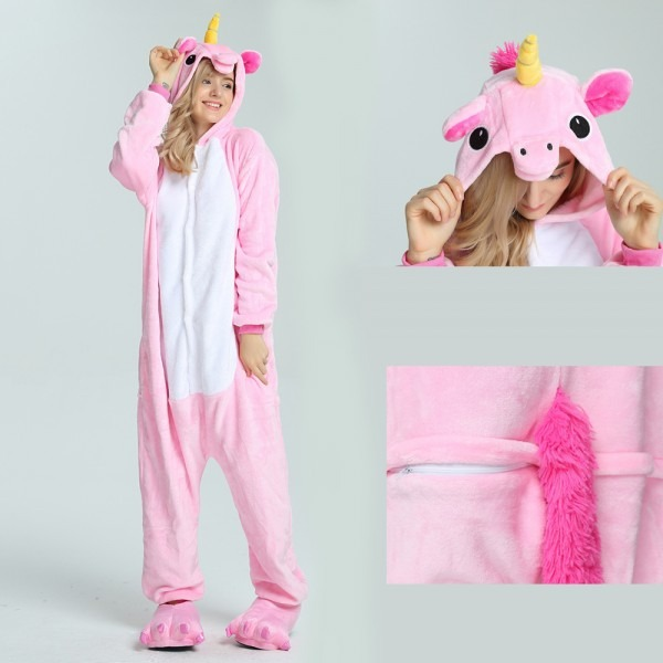 Pink Unicorn Onesie, Pink Unicorn Pajamas For Adult Buy Now
