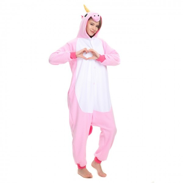 Pink Unicorn Onesie, Pink Unicorn Pajamas For Women & Men Online Sale