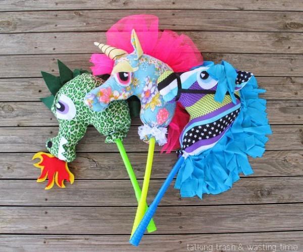 Pony, Unicorn & Dragon Toy Hobby Horse