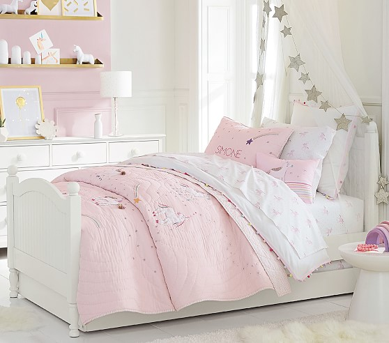 Rainbow Unicorn Kids' Comforter Set