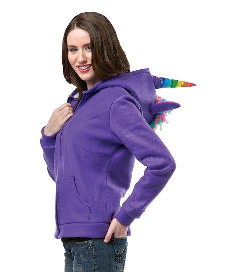 Rasta Imposta Purple Unicorn Hoodie