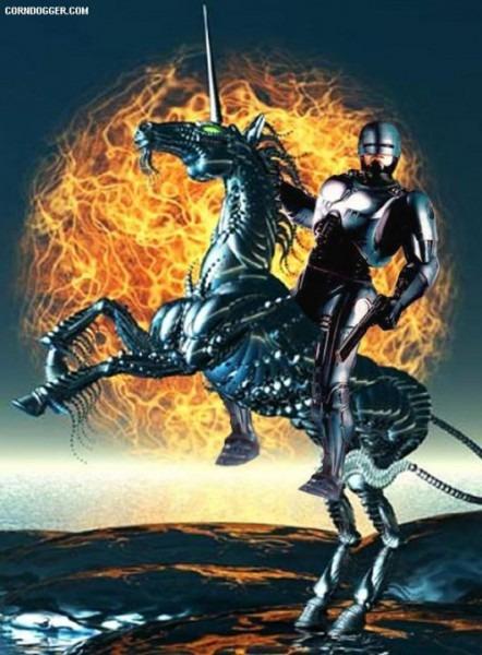 Robocop Unicorn Attack  Heavy Metal
