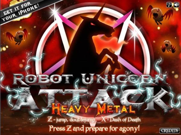 Robot Unicorn Attack  Heavy Metal Hacked (cheats)