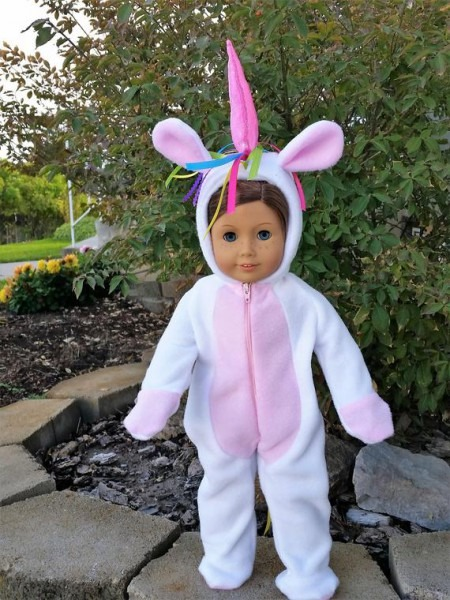 Sally The Unicorn Is A Handmade Unicorn Outfit To Fit An 18