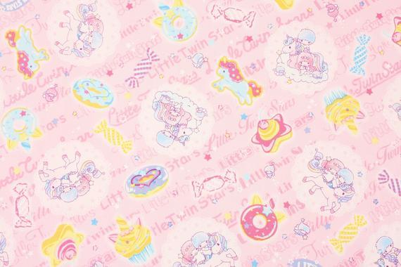 Sanrio Little Twin Stars Unicorn Character Oxford Fabric Made
