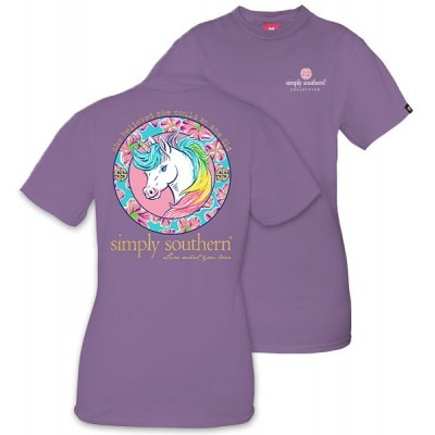Simply Southern Youth Unicorn T