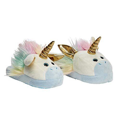 Stompeez Unicorn Slippers Large  Unicorn