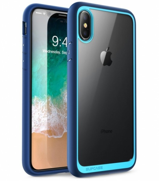 Supcase Unicorn Beetle Case For Iphone X (navy)