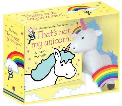 That's Not My Unicorn Book And Toy By Fiona Watt