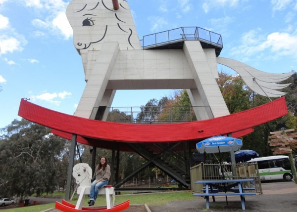 The Big Rocking Horse & The Toy Factory