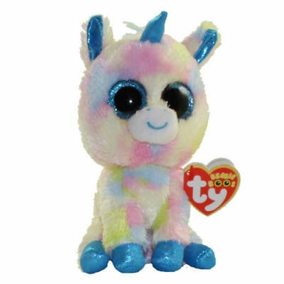 Ty Beanie Babies Beanie Boo's Blitz Unicorn Beanie Boos Brand New