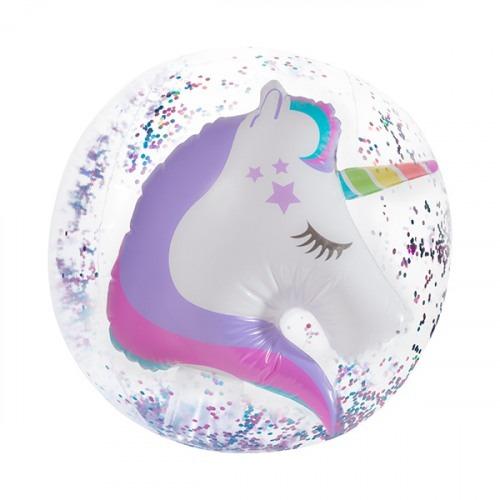 Unicorn 3d Beach Ball