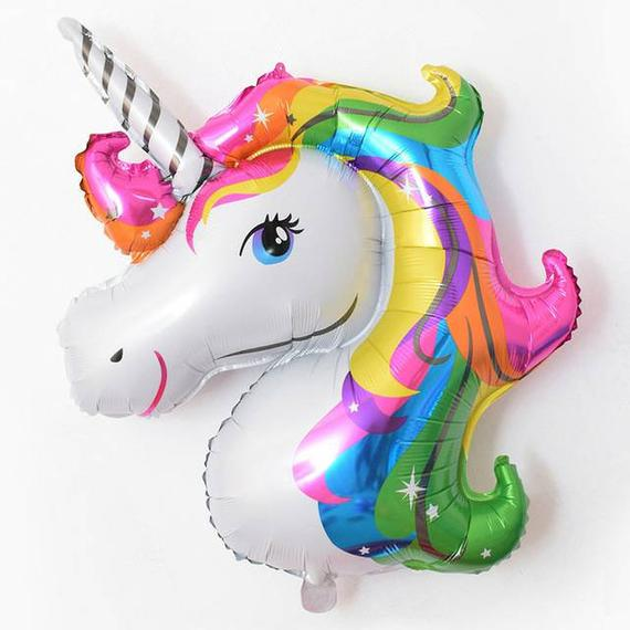 Unicorn Balloon,rainbow Unicorn,unicorn Birthday, Jumbo Unicorn