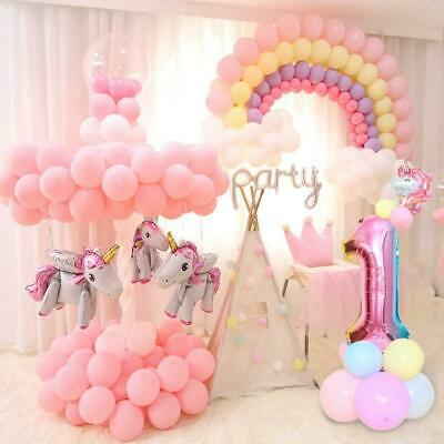 Unicorn Birthday Decorations Kids Unicorn Party Favors Supplies