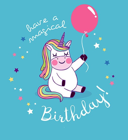 Unicorn Birthday Wishes  Coffee Mug