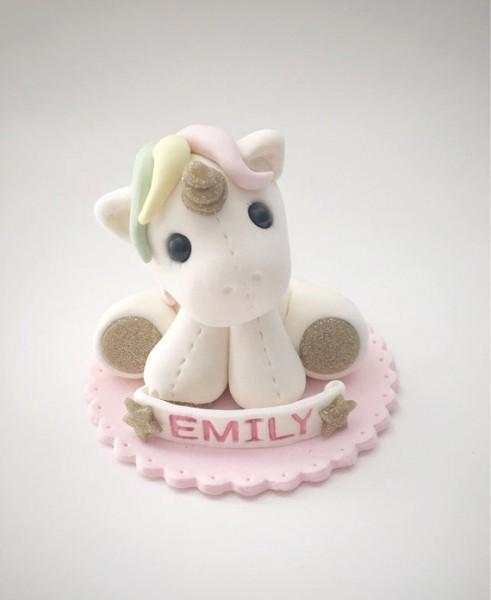 Unicorn Cake Topper Baby Unicorn Cake Topper Birthday Cake