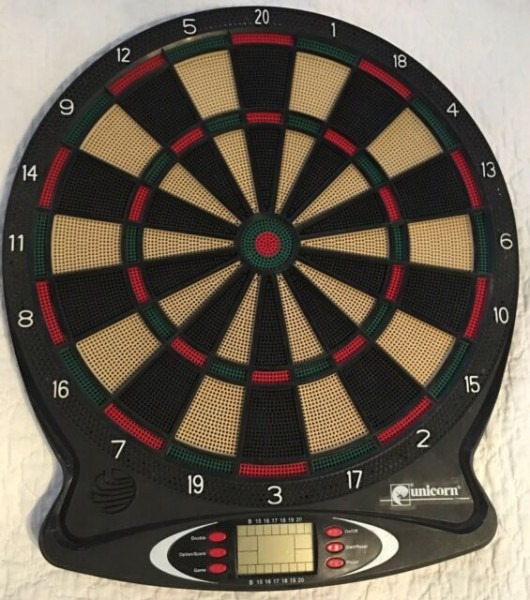 Unicorn Electronic Dart Board Cx2100 For Sale Online