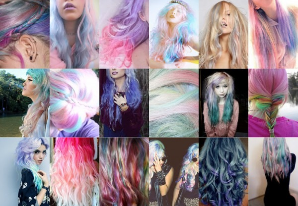 Unicorn Hair'