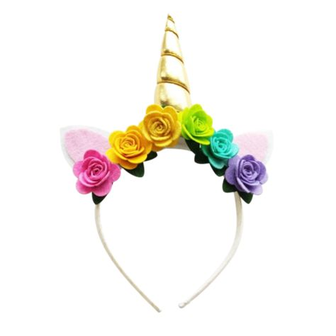 Unicorn Horn Headbands By Ponytails And Fairytales  In Stock And