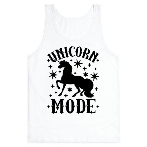 Unicorn Mode Tank Top