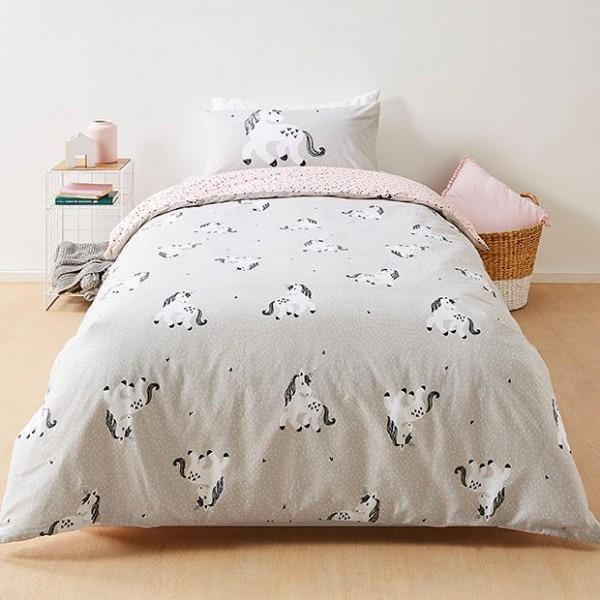 Unicorn Quilt Cover Set Target Australia Pertaining To Duvet