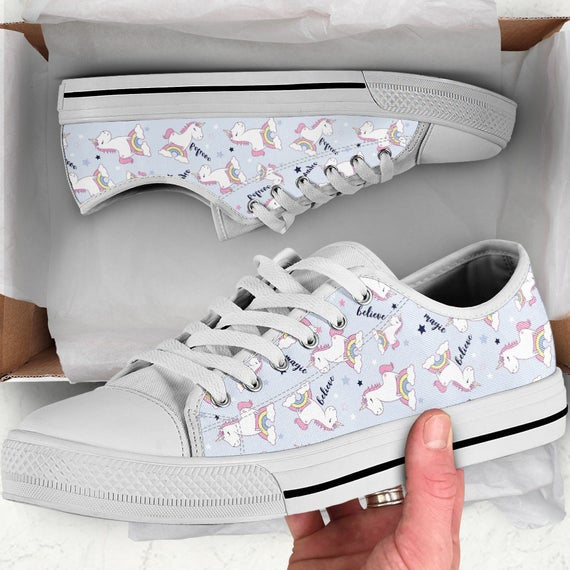 Unicorn Shoes Unicorn Sneakers Unicorn Women Shoes Shoes