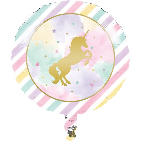 Unicorn Sparkle Mylar Balloon   Target