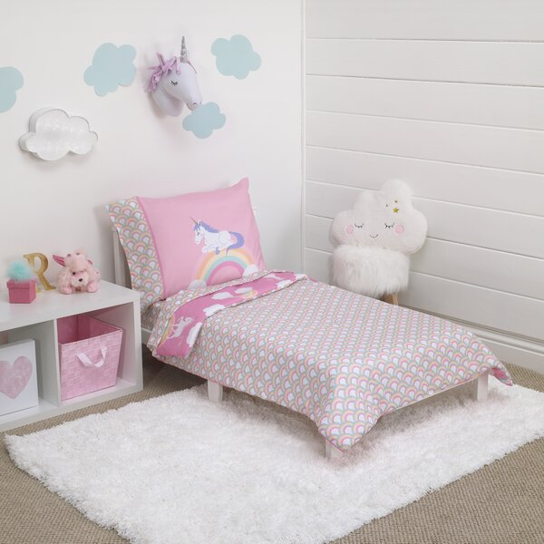 Unicorn Toddler Bedding