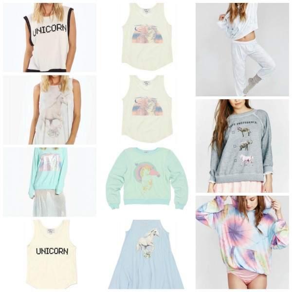 Wildfox Unicorn Shirts Make Great Gifts For The Horse Lover