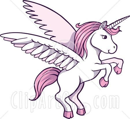 Wings Clipart Unicorn
