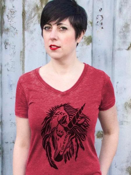 Womens Unicorn Shirt Unicorn T Shirt Unicorn Clothing Boho