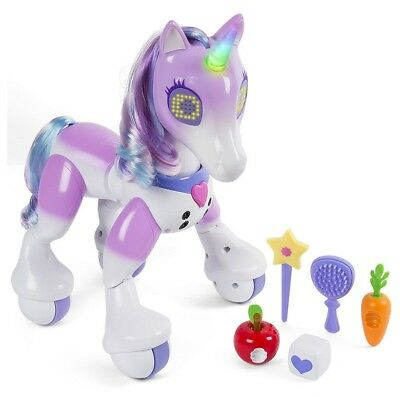 Zoomer Enchanted Unicorn Toys'r'us Exclusive Interactive Toy