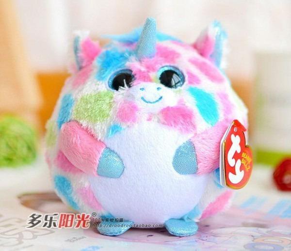 2019 Stuffed Animals Big Eyes Unicorn Doll Plush Toys Cute Gift
