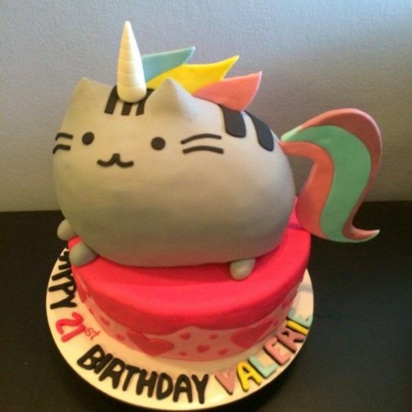 23+ Beautiful Photo Of Pusheen Birthday Cake