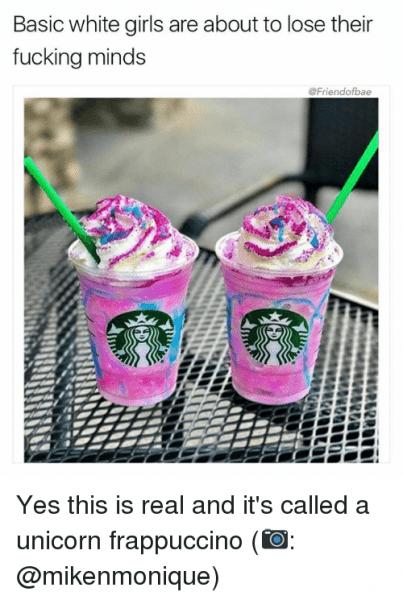 25+ Best Unicorn Frappuccino Memes
