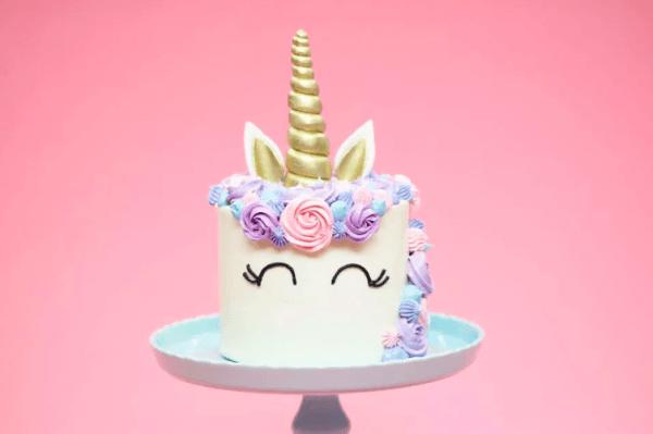 4  Unicorn Cake Decorating Class 201