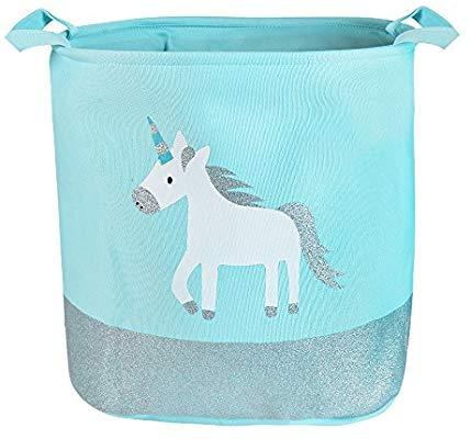 Amazon Com   Urijk Unicorn Toy Storage Basket, Baby Girl Unicorn