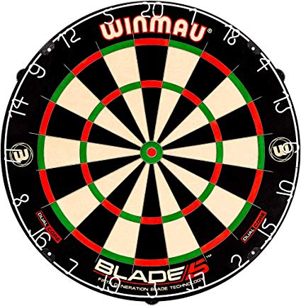 Amazon Com   Winmau Blade 5 Dual Core Bristle Dartboard With