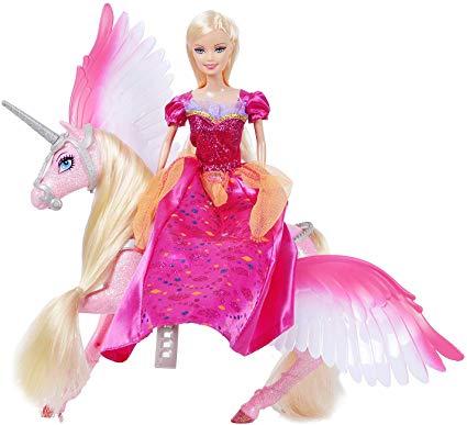 Amazon Com  Bettina Princess Doll And Unicorn, Sparkle Unicorn