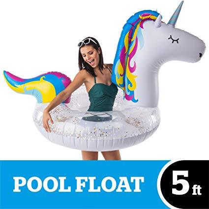 Amazon Com  Bigmouth Inc  Giant Inflatable Magical Unicorn Pool